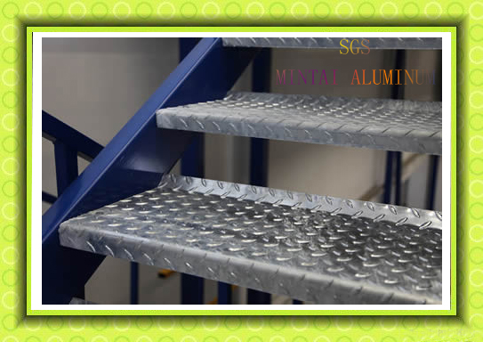 Aluminium Checker Plate Aluminum Diamond Plate For Anti
