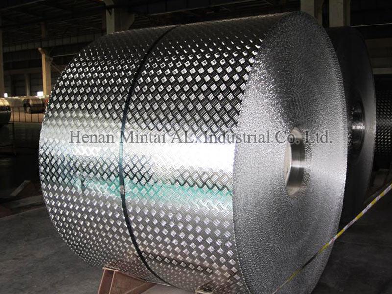 Aluminium Checker Plate Aluminum Diamond Plate For Anti