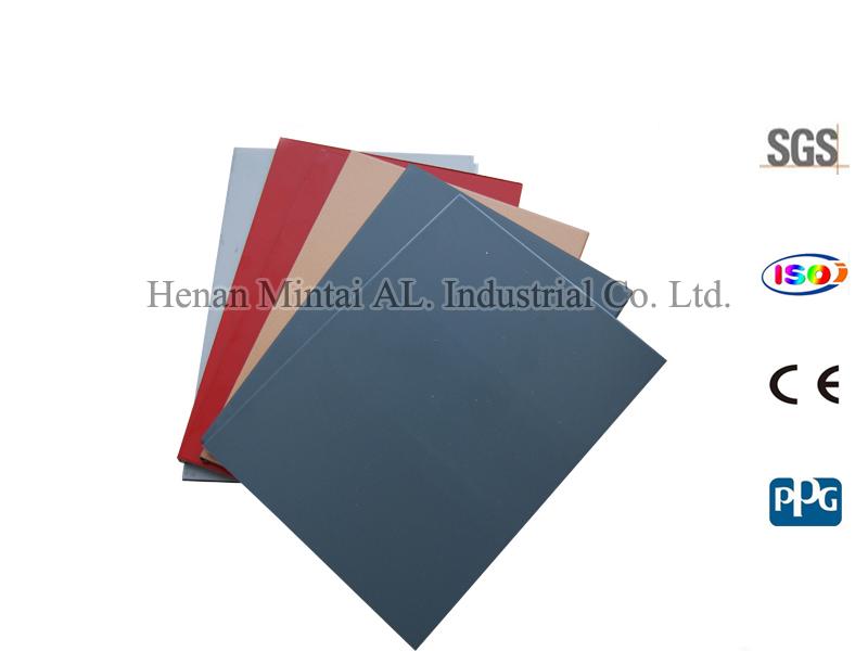 Fireproof Composite Panel : Fireproof aluminum composite panel