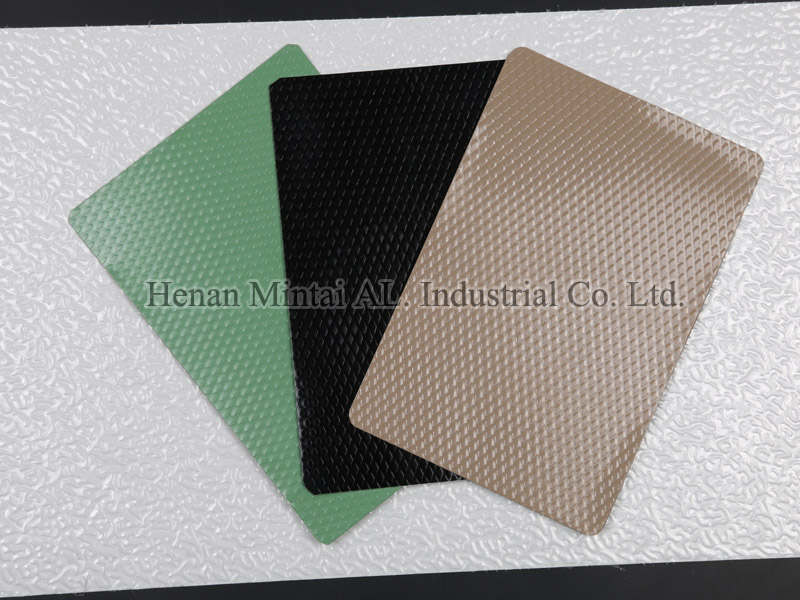 Color Coated Aluminum Stucco Embossed Coil for Roofing