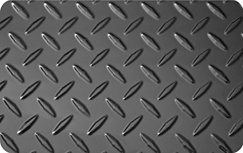 4 X 8 Embossed Aluminum Diamond Plate Sheet Black 4 X 8
